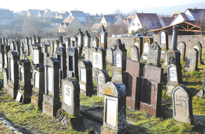 Headstones smashed at Jewish cemeteries in Moldova and Hungary - The  Jerusalem Post